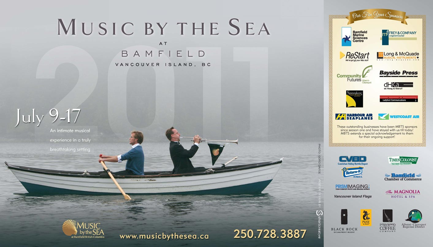 Music by the Sea 2011 poster