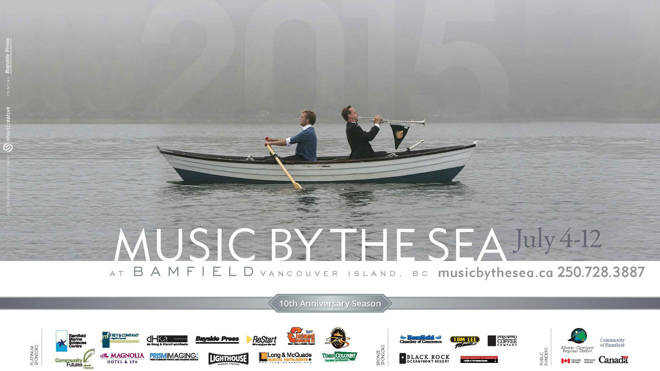 Music by the Sea 2015 poster
