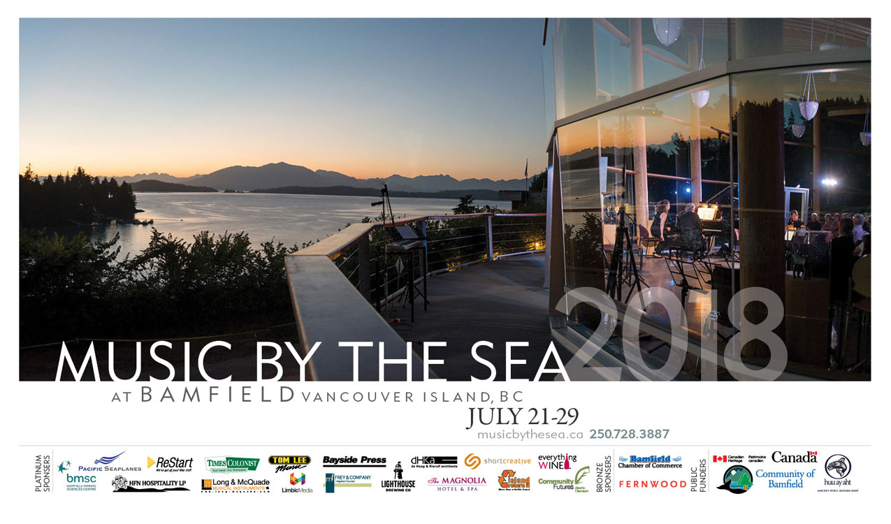 Music by the Sea poster 2018