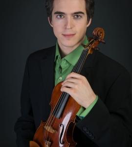 Victor Fournelle-Blain, violin